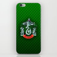 slytherin iPhone & iPod Skins featuring SLYTHERIN  by Smart Friend