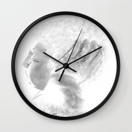 ZEN PLACES (right side) Wall Clock