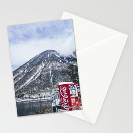 In the Japanese mountains Stationery Cards