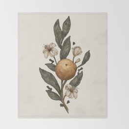 Clementine Throw Blanket