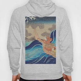 Vision of Prayer on the Waves Hoody