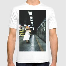 For the Love of Rome MEDIUM White Mens Fitted Tee