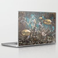 dark souls Laptop & iPad Skins featuring Orbitrary Souls by Megan Justine Henrich