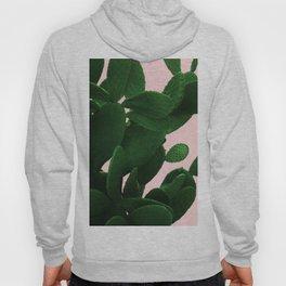 Cactus On Pink Hoody
