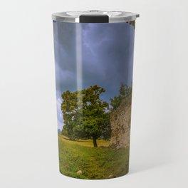 Under the ruins Travel Mug