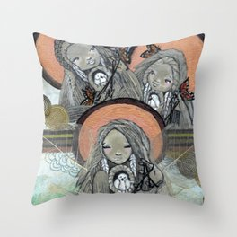 Return of the Medicine Women Throw Pillow