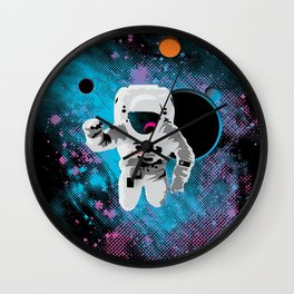 the immeasurable void Wall Clock