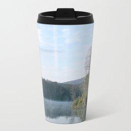 Reflective Lake Travel Mug