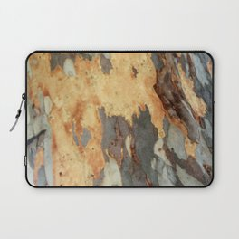 Colorful Patches And Interesting Patterns Of Bark Laptop Sleeve