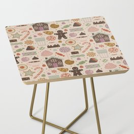 In the Land of Sweets Side Table