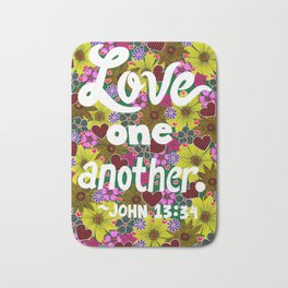 Love One Another Bath Mat