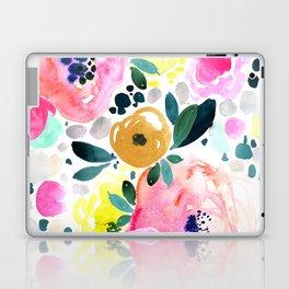 Wake Up Floral Laptop & iPad Skin