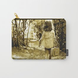 Angel of Hope & Lily Gold Carry-All Pouch