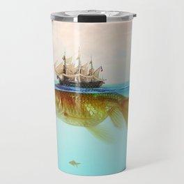 Goldfish Tall Ship Travel Mug