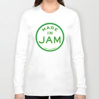 jamaica Long Sleeve T-shirts featuring Made in Jamaica (not Queens) by DCMBR - December Creative Group