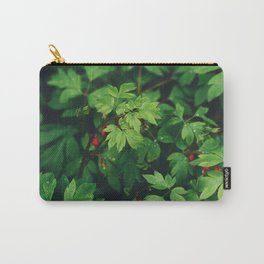 Fresh Forest Foliage Carry-All Pouch