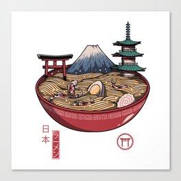 A Japanese Ramen Canvas Print