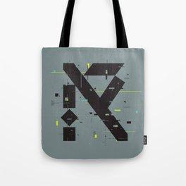 R Glitch— Tote Bag