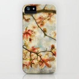 Magnolia Skys iPhone Case