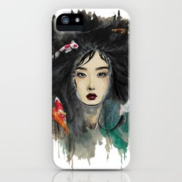 In the water iPhone Case
