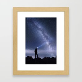 Light and Magic 003 // Head Space Framed Art Print