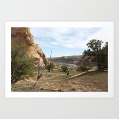 Horsethief Bench and Colorado River Art Print