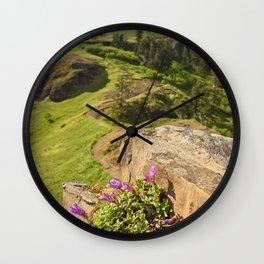 Saddle Mountain Oregon Coast Nature Northwest Forest Landscape Hiking Wall Clock
