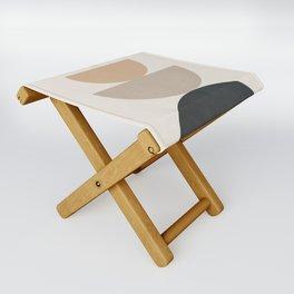 Geometric Modern Art 31 Folding Stool
