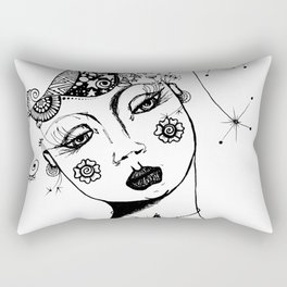 You Have No Clue What Is In My Head GRRL Rectangular Pillow