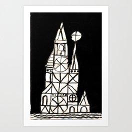 Crystal City 02-17-10d Art Print