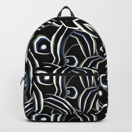 Abstract African pattern. Backpack