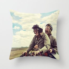 Dumb and Dumber,jim carrey,movie poster,Best Buds  Throw Pillow