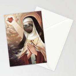 Sloth Mother Stationery Cards