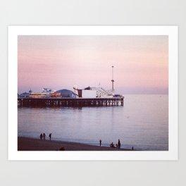 East Pier at Sunrise Art Print