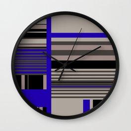 Funky fresh interior and fashion prints Wall Clock