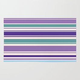 The Perfect Line Collection - Purple Spring Rug