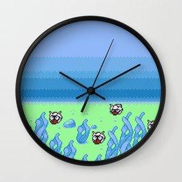 Under the Seas of Johto Wall Clock
