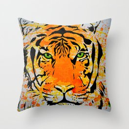 Tiger Too Throw Pillow