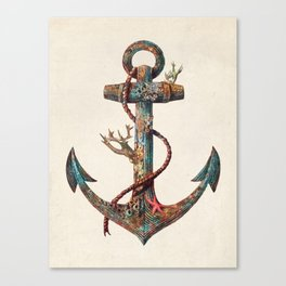 Lost at Sea - colour option Canvas Print