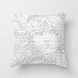 Victor Hugo's WATERLOO ramblings (Les Miserables) Throw Pillow