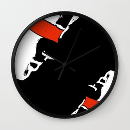 When eyes are closed Wall Clock