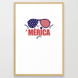 'Merika Framed Art Print