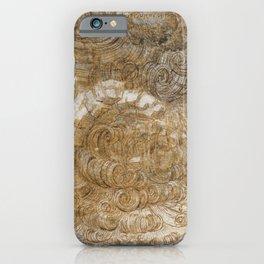 Leonardo da Vinci, A Deluge, 1517 iPhone Case