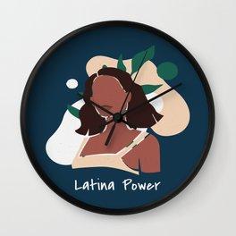 Latina Power Wall Clock