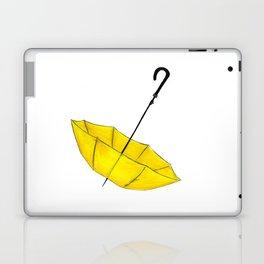 The Yellow Umbrella Laptop & iPad Skin