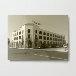 Haunted Hotel Metal Print