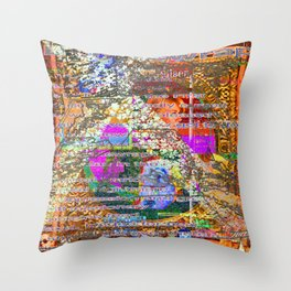 Small Coincidences and Bubblewrap [A Brand New Experiment Series] Throw Pillow