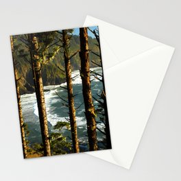 View through the treesH Stationery Cards