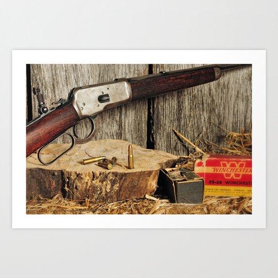 Winchester Model 53 Art Print