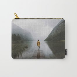 Mountain Lake Vibes - Landscape Photography Carry-All Pouch